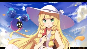 Rating: Safe Score: 81 Tags: cosmog kazenoko lillie_(pokemon) pokemon pokemon_sm wallpaper User: nphuongsun93