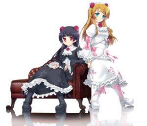 Rating: Safe Score: 36 Tags: dress gokou_ruri gothic_lolita kotobuki_utage kousaka_kirino lolita_fashion ore_no_imouto_ga_konnani_kawaii_wake_ga_nai User: Amperrior