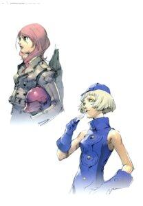 Rating: Safe Score: 8 Tags: elizabeth_(p3) kirijou_mitsuru megaten persona persona_3 soejima_shigenori User: Aurelia