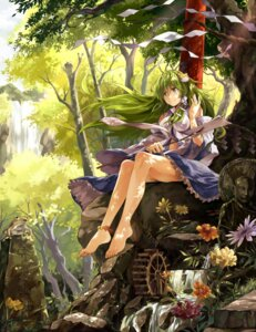 Rating: Safe Score: 35 Tags: kochiya_sanae neko_(yanshoujie) touhou User: fairyren