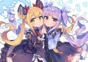 Rating: Safe Score: 20 Tags: crossover hikawa_kyouka luna_(shadowverse) princess_connect princess_connect!_re:dive shadowverse wagashi928 User: Mr_GT