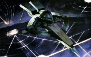 Rating: Safe Score: 3 Tags: gundam landscape mecha turn_a_gundam User: drop