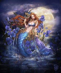 Rating: Safe Score: 24 Tags: alpaca_sama bikini_top cleavage mermaid monster_girl tail User: Mr_GT