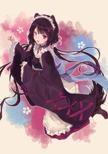 Rating: Safe Score: 39 Tags: animal_ears inui_toko maid nijisanji tagme tail wa_maid User: BattlequeenYume