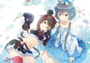 Rating: Safe Score: 54 Tags: animal_ears dress ekita_gen luo_tianyi thighhighs vocaloid yuezheng_ling User: Mr_GT