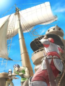 Rating: Safe Score: 2 Tags: adol_christin dogi falcom terra_(ys) ys ys_vi User: hirotn