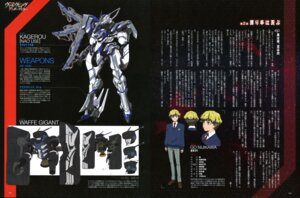 Rating: Safe Score: 6 Tags: ishiwata_makoto kakumeiki_valvrave male mecha nijikawa_gou ono_sayaka User: drop