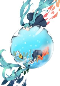 Rating: Safe Score: 28 Tags: dress feet hatsune_miku shinkai_shoujo_(vocaloid) sugar_sound vocaloid wet User: charunetra
