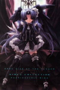 Rating: Safe Score: 23 Tags: gothic_lolita lolita_fashion miwa_yoshikazu synthetic_garden thighhighs User: admin2