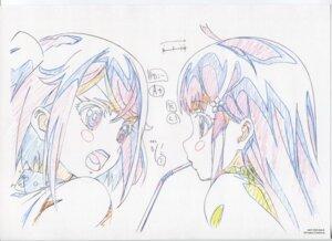 Rating: Safe Score: 8 Tags: dorothy_(garakowa) glass_no_hana_to_kowasu_sekai raw_scan remo_(garakowa) sketch User: hirotn