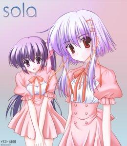 Rating: Safe Score: 11 Tags: morimiya_aono nanao_naru shihou_matsuri sola waitress User: HMX999