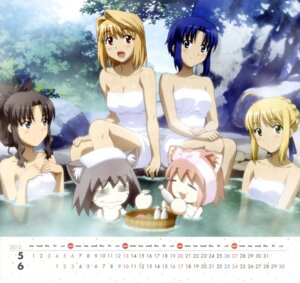 Rating: Questionable Score: 33 Tags: arcueid_brunestud bathing calendar carnival_phantasm ciel fate/stay_night hirose_tomohito naked neko_arc neko_chaos saber toosaka_rin towel tsukihime User: YamatoBomber