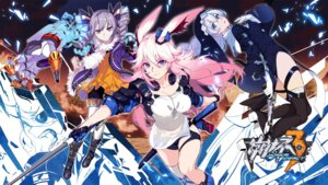 Rating: Questionable Score: 29 Tags: animal_ears benghuai_xueyuan bronya_zaychik bunny_ears cleavage gun headphones heels honkai_impact mecha nun sword theresa_apocalypse thighhighs wallpaper yae_sakura_(benghuai_xueyuan) User: nredd