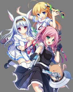 Rating: Safe Score: 66 Tags: animal_ears bunny_ears chocola elise_wallenstein g.i.b._girls_in_black gun kurokawa_yukano otonashi_sorami rken seifuku tenmaso thighhighs transparent_png uniform whirlpool User: moonian
