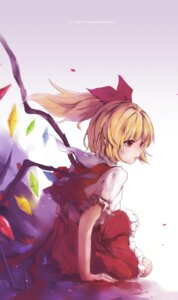Rating: Safe Score: 27 Tags: flandre_scarlet reset signed touhou wings User: charunetra