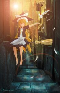 Rating: Safe Score: 13 Tags: jk-xuan kirisame_marisa touhou User: eridani