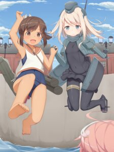 Rating: Safe Score: 28 Tags: bodysuit feet i-401_(kancolle) i-58_(kancolle) kantai_collection school_swimsuit seifuku swimsuits tachimi_(basue) u-511 User: Mr_GT