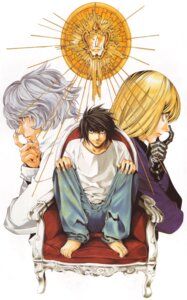 Rating: Safe Score: 1 Tags: death_note l male mello near obata_takeshi User: Radioactive