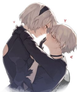 Rating: Safe Score: 9 Tags: dress nier_automata pullssack yorha_no.2_type_b yorha_no._9_type_s User: mash