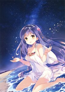 Rating: Questionable Score: 17 Tags: cleavage dress no_bra sakura_koharu summer_dress tagme wet User: Twinsenzw
