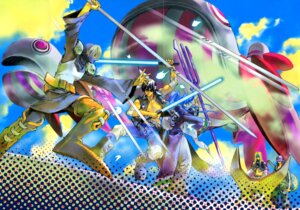 Rating: Safe Score: 3 Tags: armor crease fujisaki_ryuu hoshin_engi kou_tenka male sansento sword youzen User: Radioactive