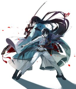 Rating: Safe Score: 21 Tags: asian_clothes hanokage horikawa_kunihiro izuminokami_kanesada male sword touken_ranbu weapon User: KazukiNanako