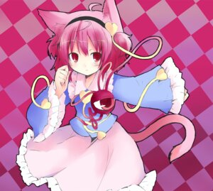 Rating: Safe Score: 15 Tags: animal_ears komeiji_satori nekomimi shichinose touhou User: fireattack