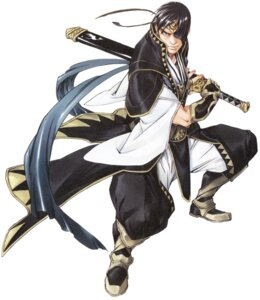 Rating: Safe Score: 6 Tags: fujita_kaori georg_prime male suikoden suikoden_v sword User: Magus