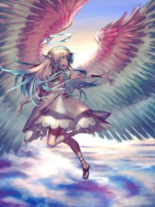 Rating: Safe Score: 22 Tags: dress pointy_ears rolua wings User: Mr_GT