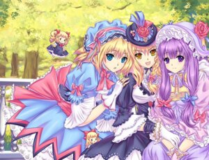 Rating: Safe Score: 20 Tags: alice_margatroid kirisame_marisa patchouli_knowledge riyun touhou User: Mr_GT
