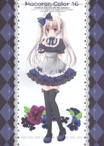 Rating: Questionable Score: 13 Tags: cascade hasekura_chiaki heels tagme thighhighs User: Radioactive