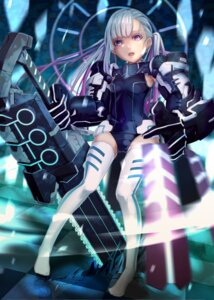 Rating: Safe Score: 26 Tags: bodysuit million_arthur_irakon_ken tagme thighhighs weapon User: charunetra