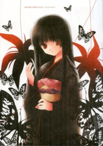 Rating: Safe Score: 18 Tags: enma_ai jigoku_shoujo kimono spread_pink zinno User: fireattack
