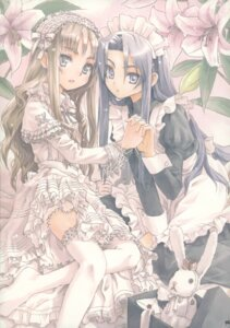 Rating: Safe Score: 25 Tags: closet_child dress konoe_ototsugu lolita_fashion maid thighhighs User: Aurelia