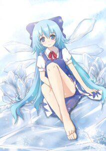 Rating: Safe Score: 22 Tags: cirno dress natsume_riu touhou User: Amperrior