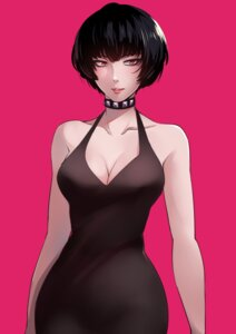 Rating: Questionable Score: 20 Tags: blueriest cleavage dress megaten persona persona_5 takemi_tae User: Genex