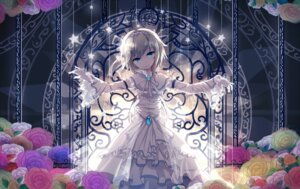 Rating: Safe Score: 90 Tags: alice_margatroid dress sen_ya touhou wedding_dress User: tbchyu001