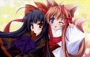 Rating: Safe Score: 27 Tags: kimono mito_mashiro moekibara_fumitake nue tayutama User: Matsurin