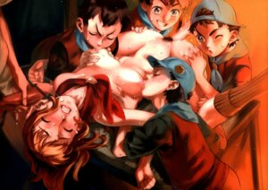 Rating: Explicit Score: 75 Tags: censored gangbang naked nipples nishieda penis pubic_hair sex shota User: Nazzrie