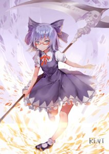 Rating: Safe Score: 29 Tags: cirno dress kentia megane touhou weapon User: Mr_GT
