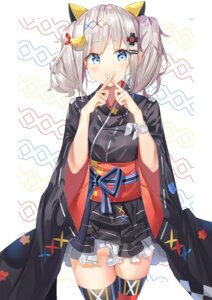 Rating: Safe Score: 36 Tags: japanese_clothes kaguya_luna kaguya_luna_(character) tagme thighhighs User: BattlequeenYume