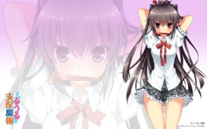 Rating: Questionable Score: 57 Tags: sakura_neko seifuku sore_ga_ruuru_no_irregular wallpaper User: aoie_emesai