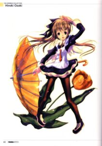 Rating: Safe Score: 5 Tags: binding_discoloration maid ozaki_hiroki pantyhose User: yumichi-sama