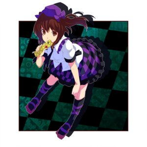 Rating: Safe Score: 8 Tags: himekaidou_hatate touhou tsuttsu User: Nekotsúh