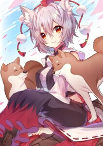 Rating: Safe Score: 24 Tags: animal_ears inubashiri_momiji renka_(sutegoma25) tail touhou User: Mr_GT
