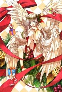 Rating: Safe Score: 29 Tags: chibi christmas minatsuki_(lapislazzuli169) wings User: Mr_GT