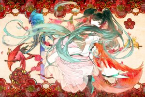 Rating: Safe Score: 9 Tags: chinadress hatsune_miku toma_'3' vocaloid User: 23yAyuMe