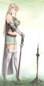 Rating: Questionable Score: 62 Tags: armor elf heels pointy_ears sisshou_senkoku sword thighhighs User: mash
