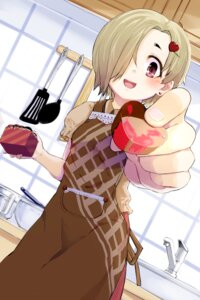 Rating: Safe Score: 21 Tags: momo_(higanbana_and_girl) shirasaka_koume the_idolm@ster the_idolm@ster_cinderella_girls valentine User: Mr_GT