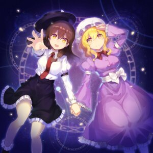 Rating: Safe Score: 17 Tags: maribel_hearn rin_falcon touhou usami_renko User: Nepcoheart